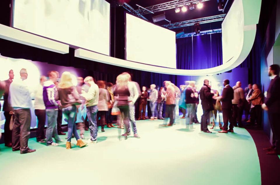 Networking em eventos