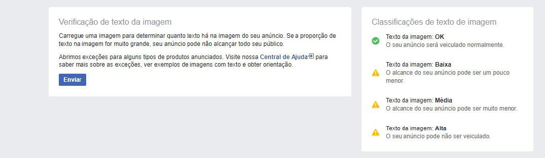 04 Facebook para Empresas Foto com 20% de texto
